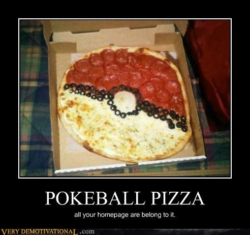 pizza,pokeball,Pokémon,Pure Awesome