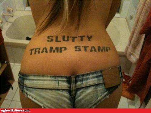 tramp stamp,literal,funny