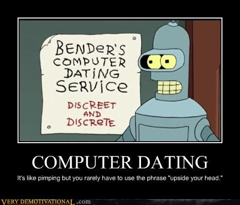 bender computer dating futurama hilarious - 4769256192