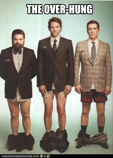 actor bradley cooper celeb ed helms funny Zach Galifianakis - 4769316608