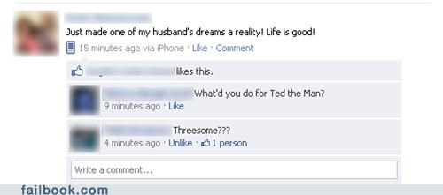 ted the man,husbands,threesomes