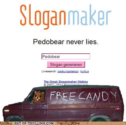 creepy lies pedobear - 4769688576
