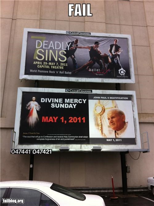 billboard failboat g rated juxtaposition pop religion sins - 4769904896