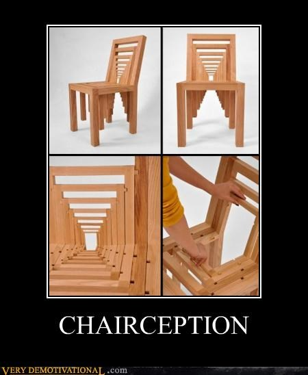 chair furniture hilarious Inception Movie - 4769991936