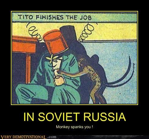 comics hilarious monkey Soviet Russia - 4770100224