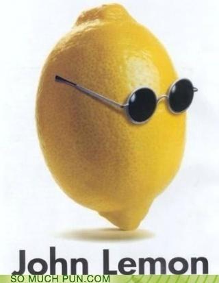 glasses imagine john lennon lemon literalism similar sounding - 4770149632