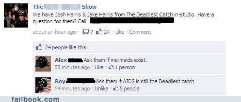 aids,deadliest catch,you asked