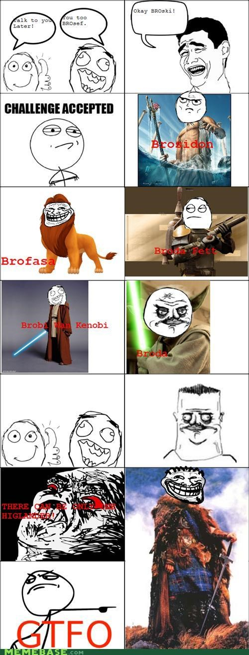back brofasa bros Rage Comics sequel - 4770433536