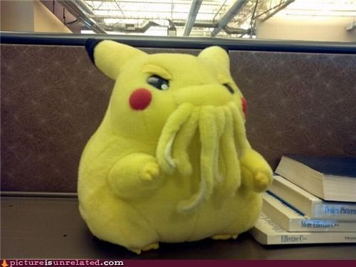 cthulhu,pika-chu,stuffed animal,wtf
