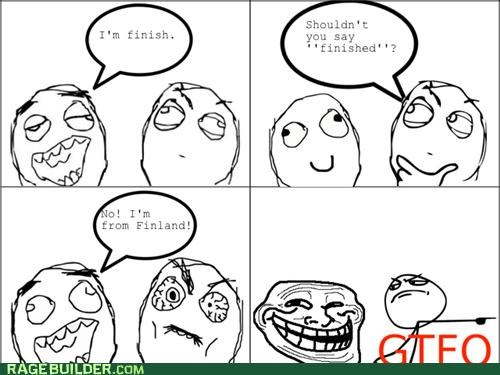 dumb finish finnish Rage Comics spelling - 4770604288