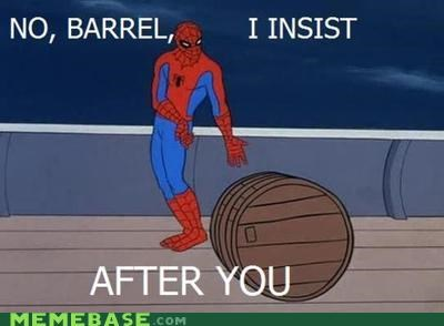 after you barrell guest insistence Spider-Man superheroes - 4771035136