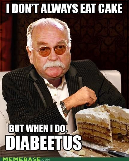 diabeetus diabetic remix the most interesting man in the world wilford brimley - 4771044864