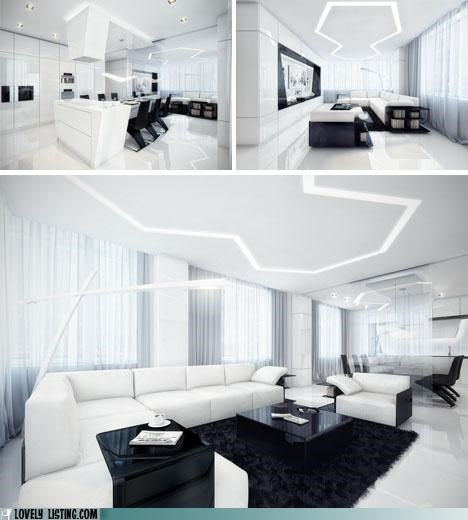 black,decor,modern,white