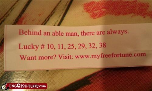 able,fortune cookie,man