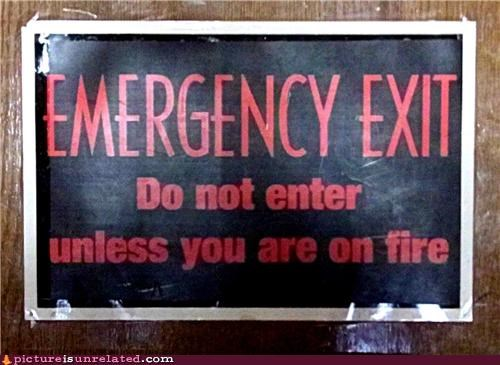 emergency,exit,sign,wtf