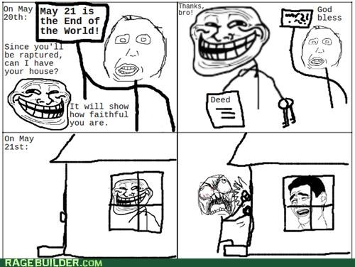 deed god house Rage Comics RAPTURE sins - 4771568128