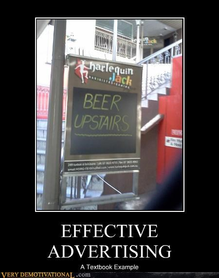 advertising beer Pure Awesome textbook - 4772719360