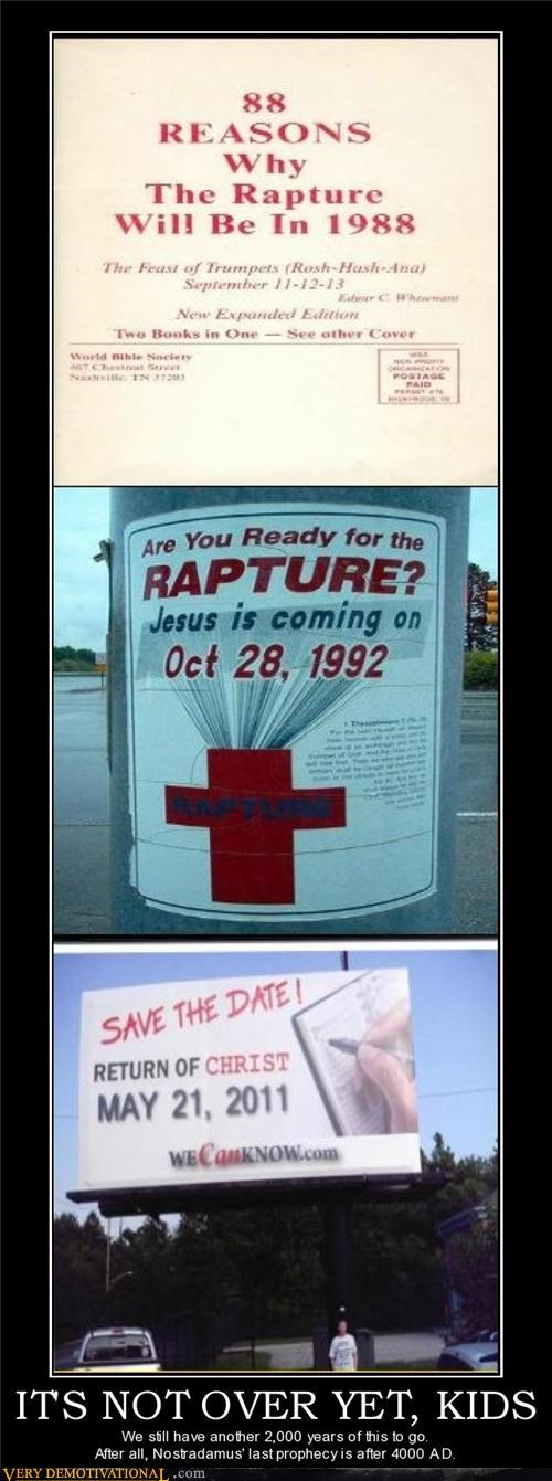 end of the world Hall of Fame hilarious prediction RAPTURE - 4772740352