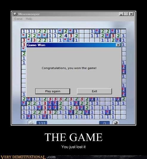 hilarious,mine sweeper,sorry,the game
