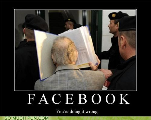 book,doing it wrong,face,facebook,literalism,question,twitter