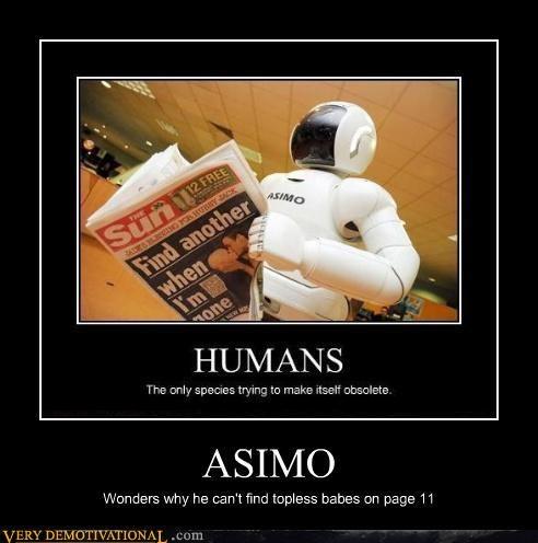 asimo babes hilarious magazine robots - 4773094656