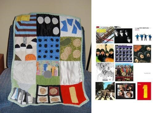 Kickass Quilt Luckiest Baby Ever the Beatles - 4773355264