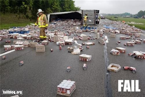 car crash crash driving failboat g rated Professional At Work spill truck - 4773656064
