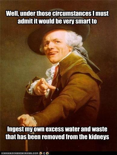 bear grylls,Joseph Ducreux,pee,waste,water