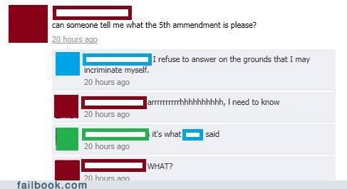 5th amendment,facepalm,government,not getting it