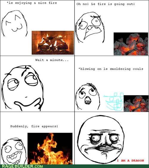 dragon fire me gusta Rage Comics - 4774103552