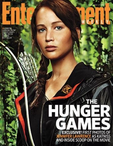 first look jennifer lawrence katniss hunger games