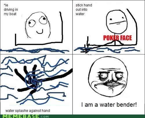 airbender Avatar bending fire Rage Comics sequel water - 4774130176