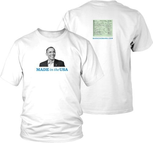 Birther Movement potus Tee - 4774246144