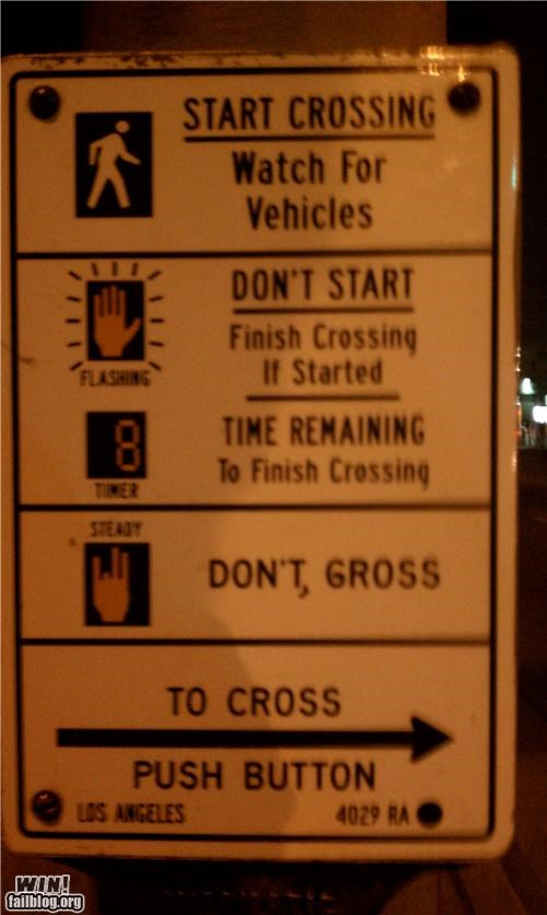 gross,hacked,road signs,sexual,The Shocker