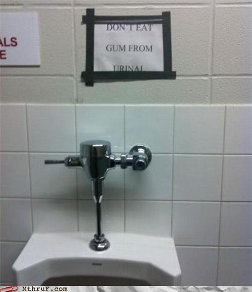 bathroom gum urinal - 4774532608