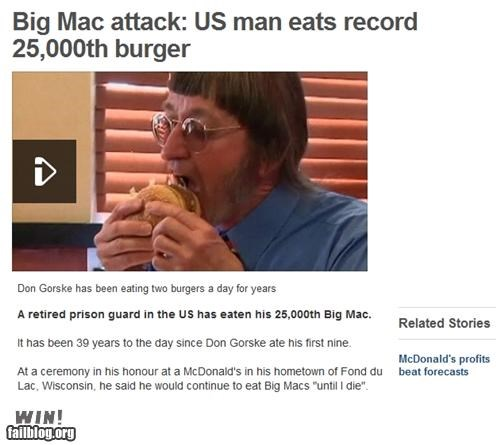 burgers,completely relevant news,food,McDonald's,world record