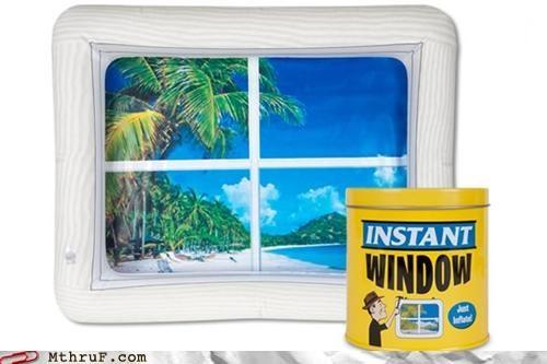 cubicle outside window - 4774972416