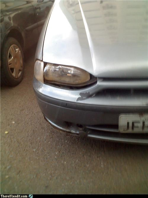 cars,dual use,headlight,plastic bottle