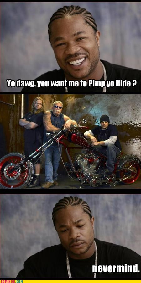 bike,car,pimp ride,spider,wtf,Xxzibit