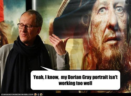 actor celeb funny Geoffrey Rush - 4776039936