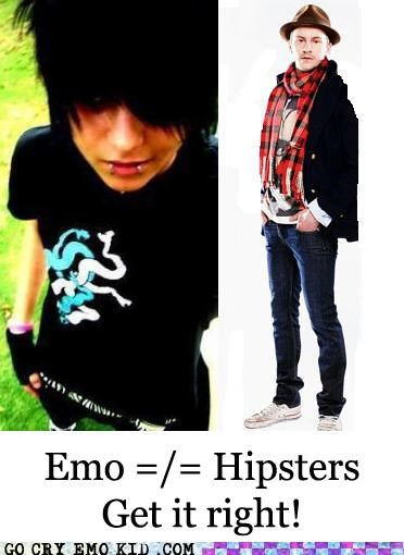 annoying different emo emolulz hipster