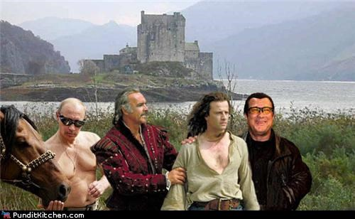 immortality political pictures steven seagal Vladimir Putin - 4777245440