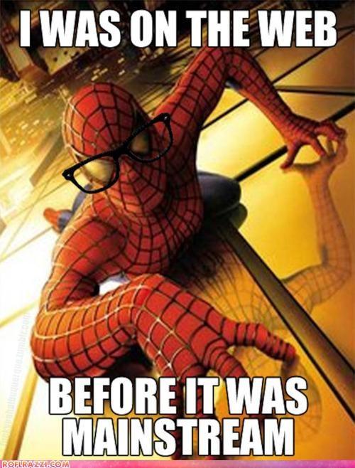 funny hipster meme Spider-Man - 4777318400