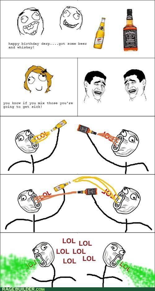 alcoholism drinking drunk lol Rage Comics - 4777326592