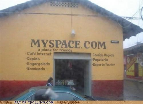 building friends IRL myspace - 4777387776