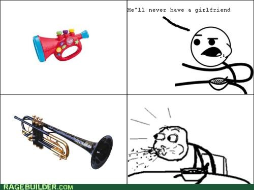 blast,blows,blues,Rage Comics,trumpet