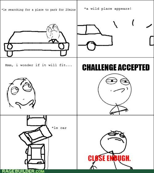 Close Enough driving foreign license officer Rage Comics - 4777596928