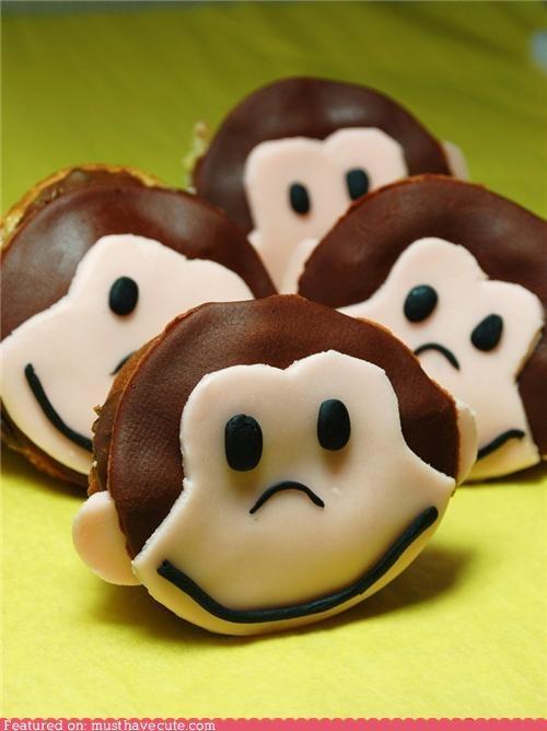 banana cupcakes epicute monkey - 4777616896
