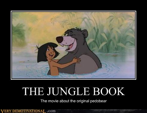 disney hilarious Jungle Book Movie pedobear - 4777899008