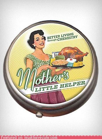 medicine mothers-little-helper pillbox pills - 4777975808